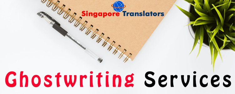 Ghostwriting Services Singapore