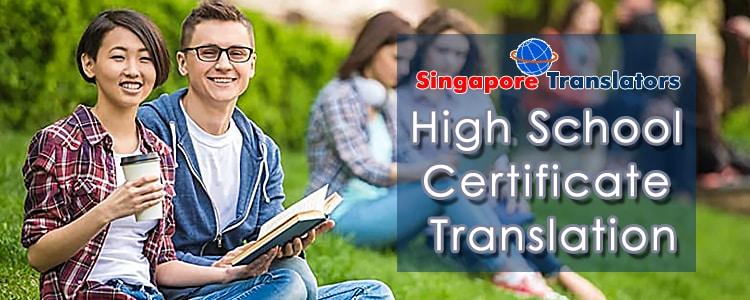 High School Certificate Translation Services Jaipur
