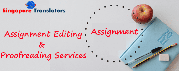 Proofreading service in singapore
