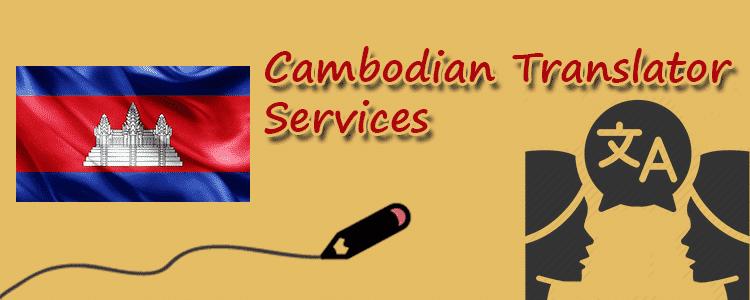 Cambodian-Translator