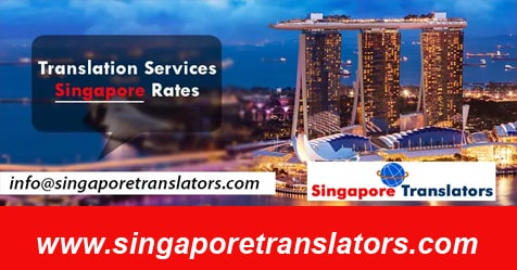 Translation Services Singapore Rates