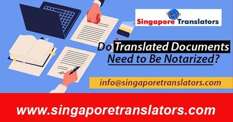 notary of translated document singapore