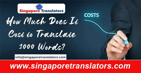 translation Cost in singapore