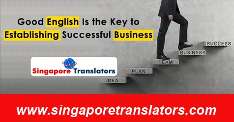 business in singapore with good english