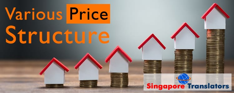 Various-Price-Structure