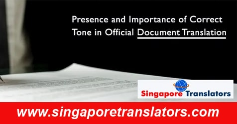 proper translation for your document