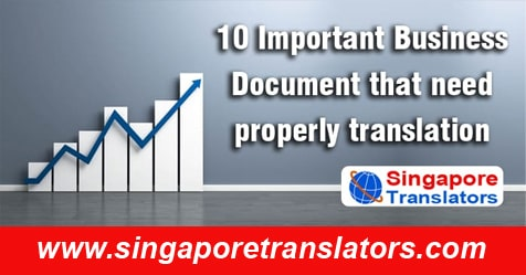 Important Legal Document for business in singapore