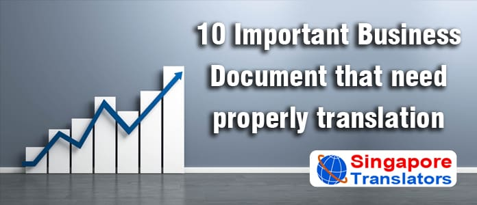 Top 10 Important Legal Document Translation Services for Singapore Business Expansion