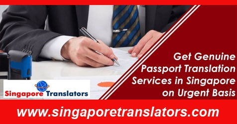 passport translation services urgently singapore