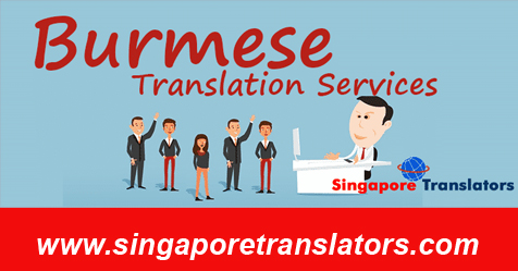 Burmese Translation Services Singapore