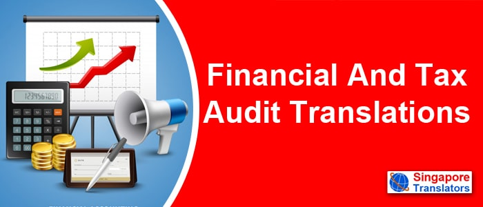 Financial And Tax Audit Translation services singapore