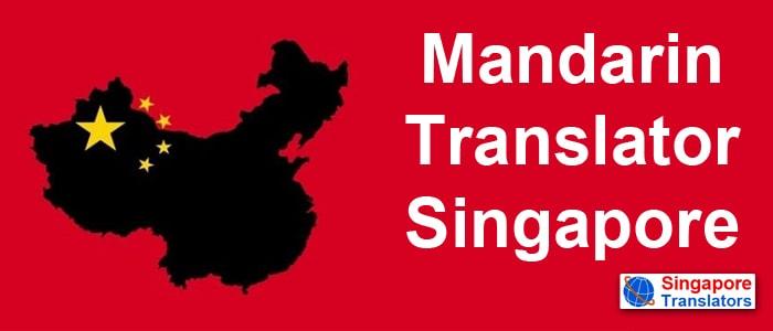 Mandarin chinese Translator Singapore