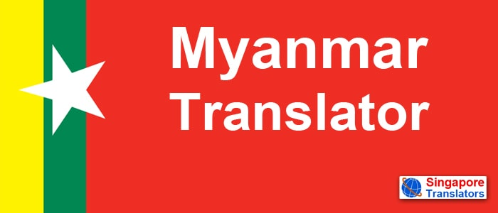 Myanmar Translator singapore