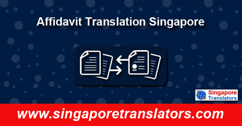 Affidavit Translation Singapore