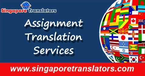 Assignment Translation Services