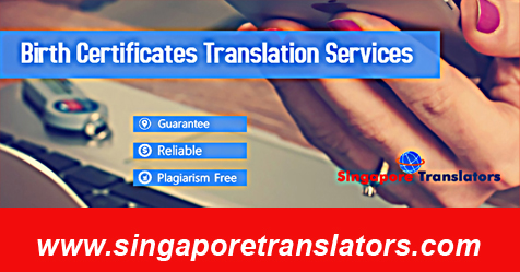 Birth Certificate Translation Services