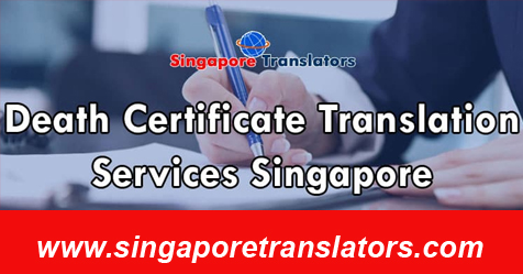 Death Certificate Translation Services Singapore