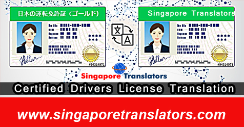 Driving License Translation Services