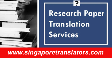 Research Paper Translation Services