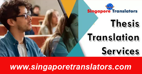 Thesis Translation Services