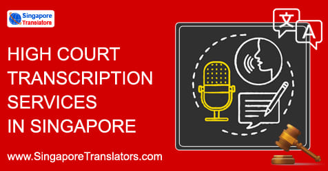 High Court Transcription Services