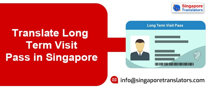 Translate Long Term Visit Pass in Singapore